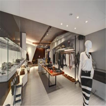 Elegant Fancy Shop Furniture Names Garment Display / Retail Garment Shop  Interior Design