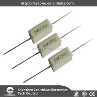 5W ceramic cement wirewound resistor