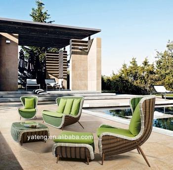 2016 wholesale synthetic rattan furniture garden sofa set outdoor