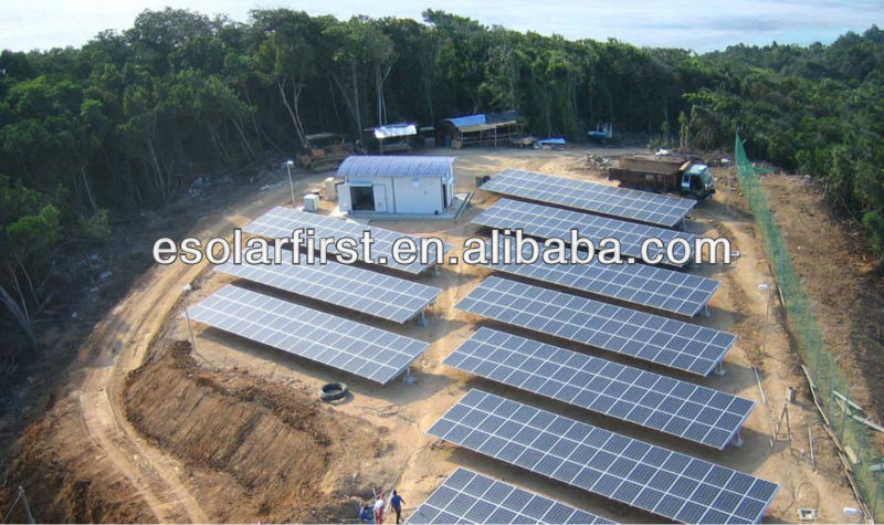 solar mounting or racking system,50kw / 100kw solar system
