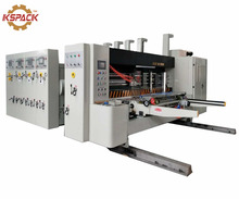 corrugated carton box multi color flexo printing machine