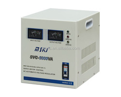5000W ac automatic svc motor voltage regulator 220V voltage stabilizer