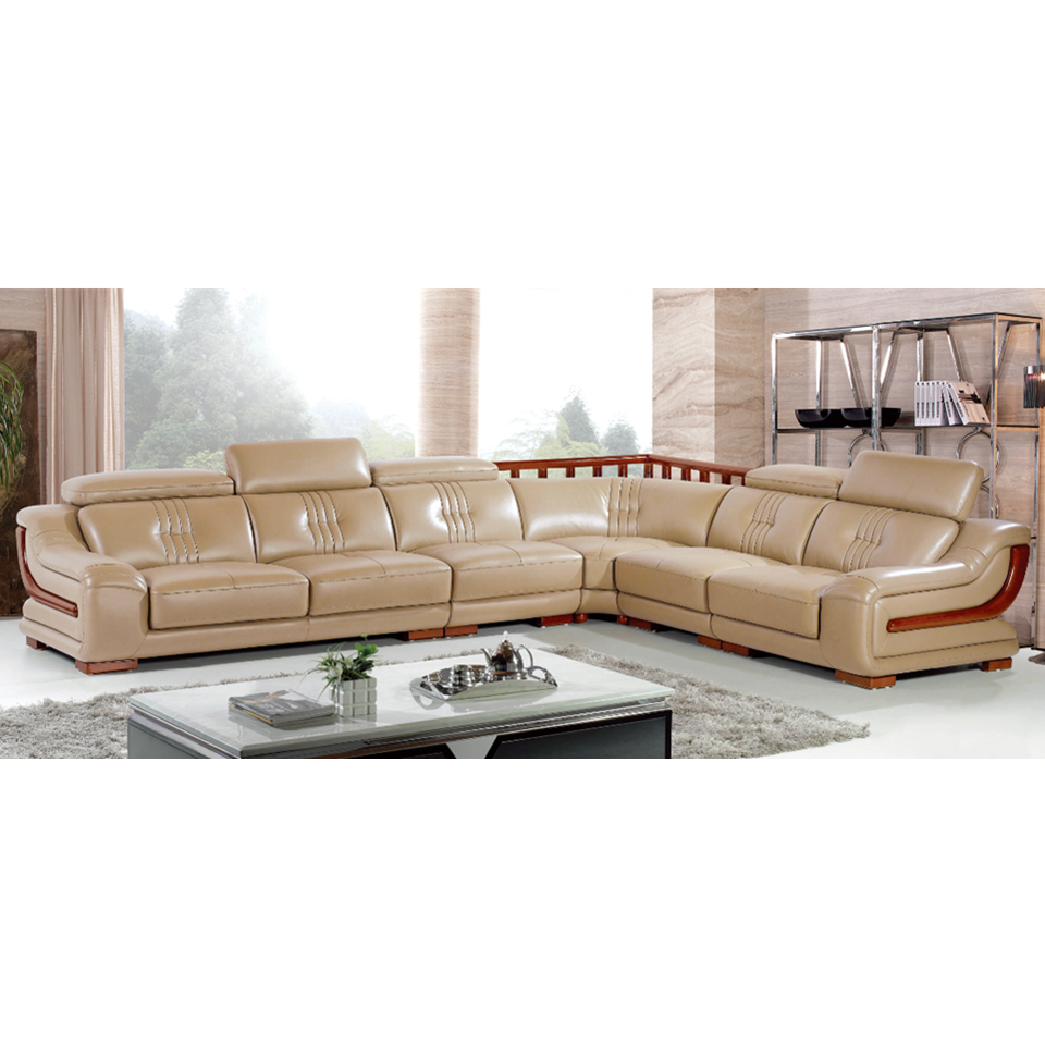 6818 Restaurants Furniture American Style Relaxin 1+2+3 Living Room Furniture L Shape <strong>Sofa</strong>