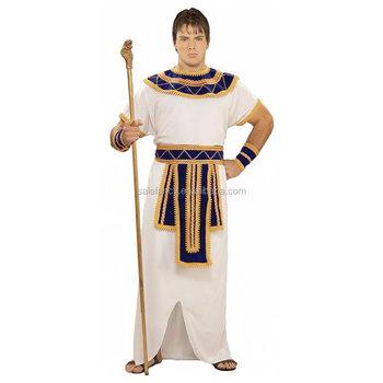 adult men pharaoh egyptian costume women carnival costume qamc 2027