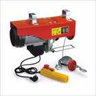 CE certificated 0.5 ton mini electric wire rope hoist/electric hoist manufacturer AC 220/230/240V