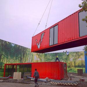 2 story 40 ft container house tiny light steel foldable eco friendly mobile homes
