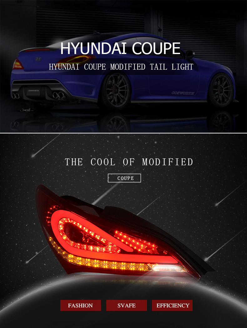 Wholesaler High Quality Modified Hyundai Genesis Coupe Led Tail ...