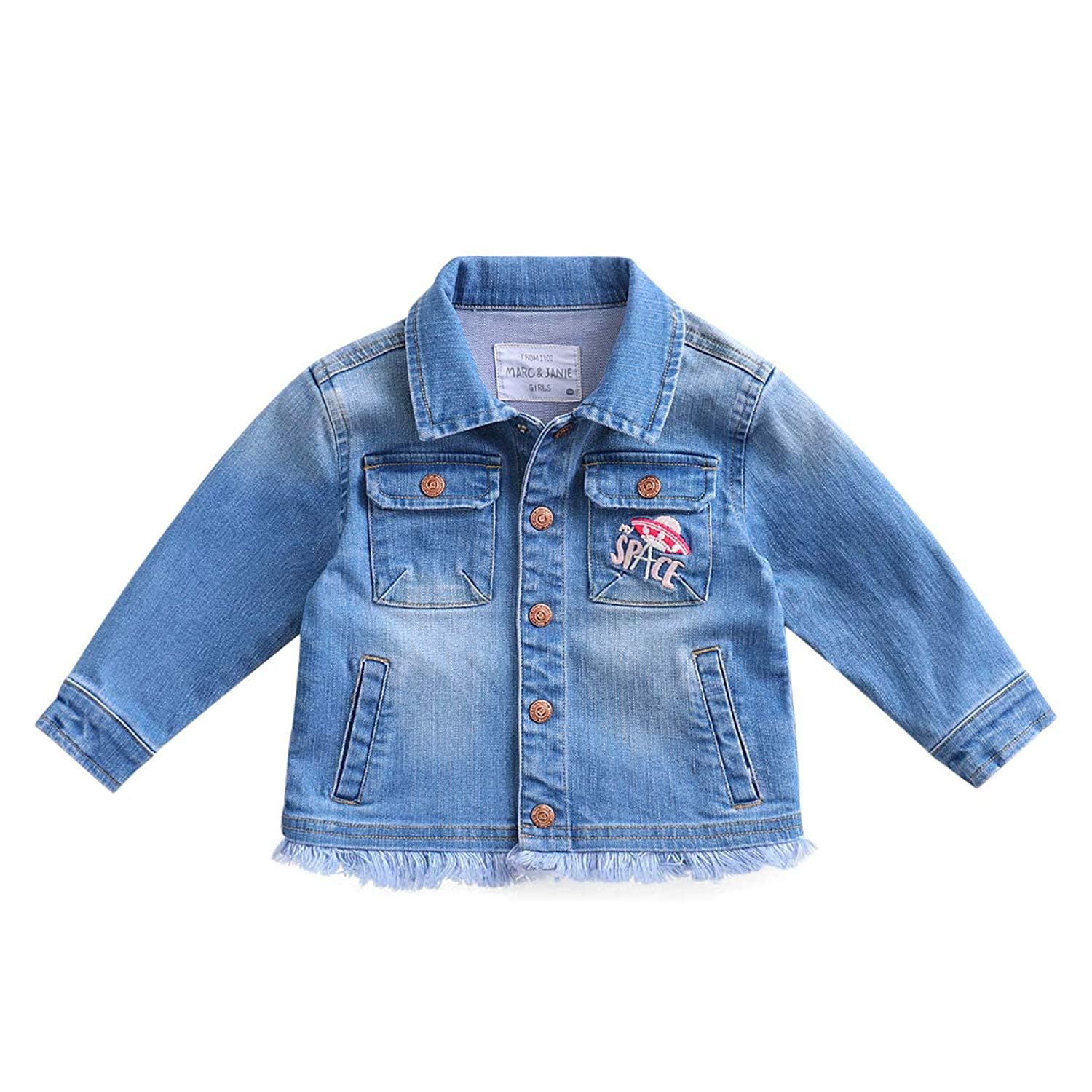 Cossky Little Boys Jean Jacket Personalized Denim Jacket Jackets Coats