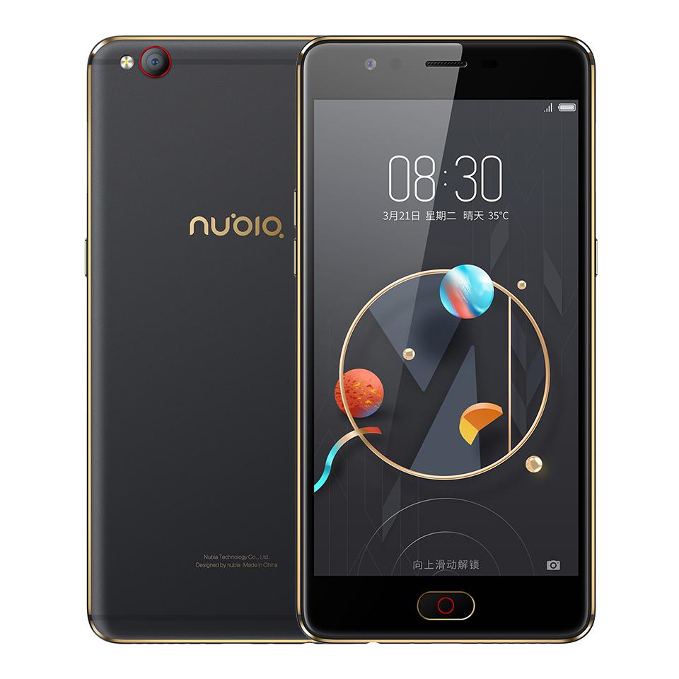 "Free gift case Original ZTE Nubia M2 LITE 4G LTE phone MT6750 Octa Core Android M 5.5 3G RAM 64G 64GB ROM 16.0MP Camera"""