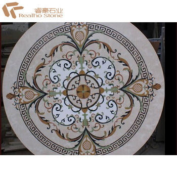 Marble Stone Water Jet Medallion with Classic Designs for Floorings