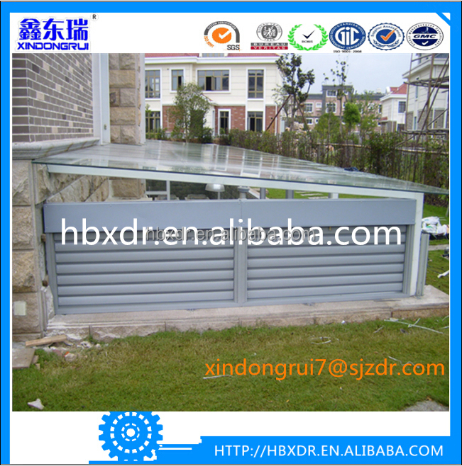 Cheap price for engineering project aluminum alloy shutters window/shade window/blinds window frame