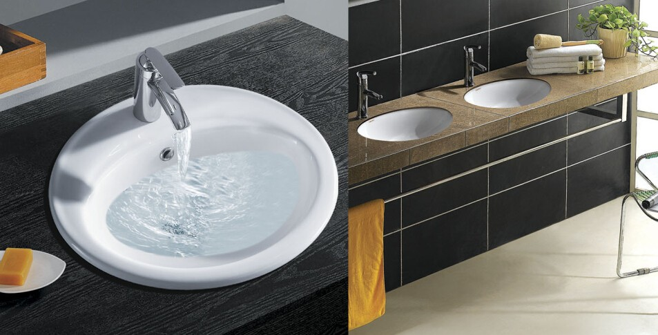 All Sanitary Items One Piece Bathroom Sink And Counter Cabinet – One Piece Bathroom