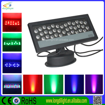 new 2017 ip65 led rgb wall washer light 36wx1w led light. Black Bedroom Furniture Sets. Home Design Ideas