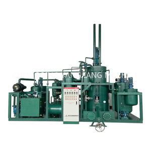 Alibaba Hot Sell Vacuum Dirty Lube Waste Oil Treatment Plant
