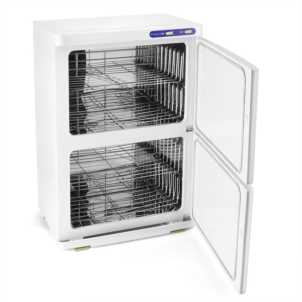 Exceptionnel Flexzion Hot Towel Warmer Cabinet Rack   Electric Towel Heater Heated Towel  Rail Storage Basket Shelf