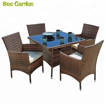 Outdoor Furniture All Weather Square Wicker Dining Table And Chairs Dining Table Set Buy Dining Table And Chairs Dining Table Set Glass Dining Table Set Product On Alibaba Com