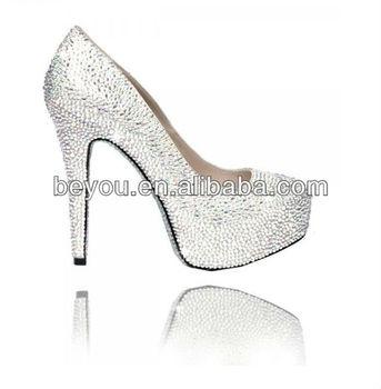 3de43de301e Venus Sparkling High Heel Pump Stiletto Bling Silver Diamante Crystal Shoes  - Buy Diamante Shoes,Crystal Shoes,Stiletto Shoes Product on Alibaba.com