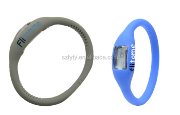 product bracelet custom rubber wristband silicone view