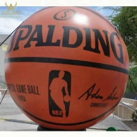 Outdoor advertising basketball football model customized inflatable basketball