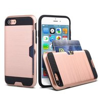 Top quality and cheap hybrid 2 in 1 case for nexus 6for ipod touch 6