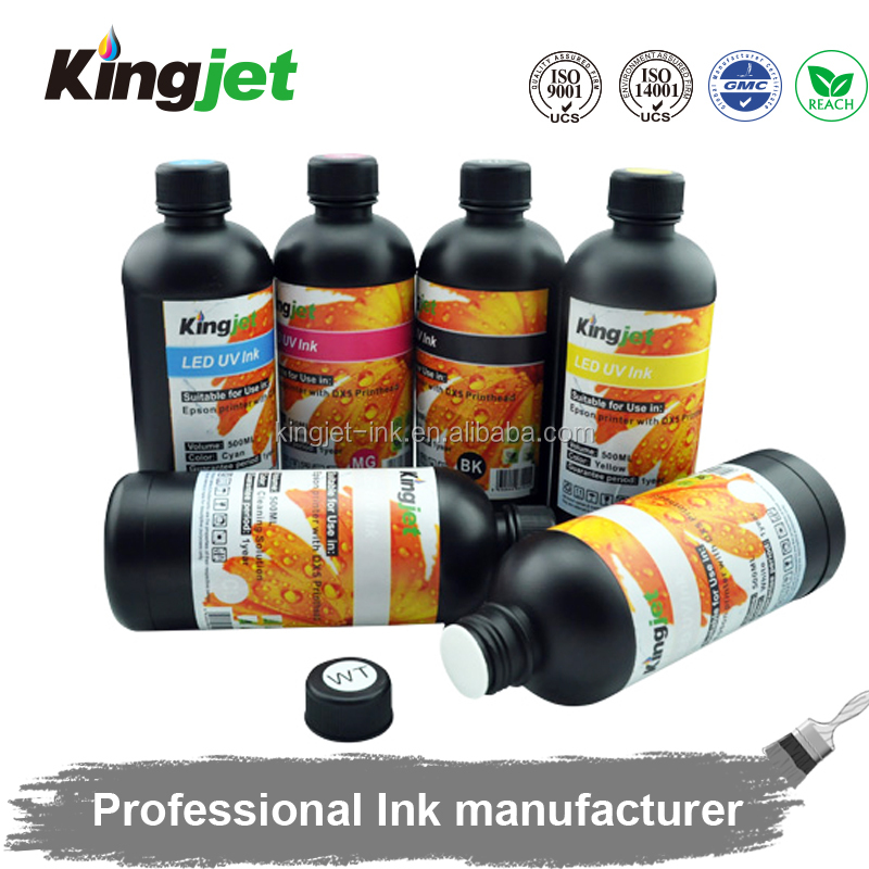 2016 Newest product!!Eco friendly hologram uv ink printing,uv flexo ink,uv silk screen printing ink for epson dx5 printheads