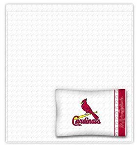 St. Louis Cardinals Sheet Set - Queen Bed