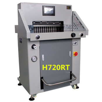 2016 New design Electrical hydraulic paper programmable paper cutter--H720RT