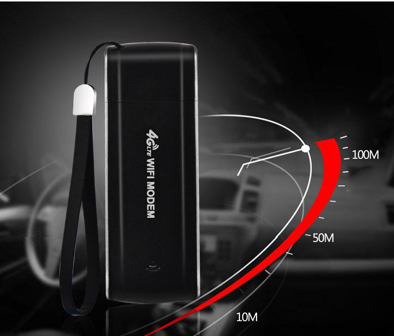 휴대용 핫스팟 100 Mbps CAT 3 Mini 4G WiFi 모뎀