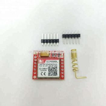 Sim800 Core Board Gprs Adapter Sim800l Gsm Module Micro Sim Card - Buy  Cheap Gsm Module,Gps Gprs Gsm Module Sim908,Gsm Gprs Module Product on