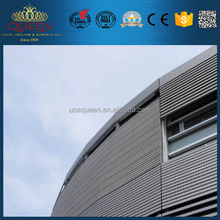 Nuclear Emergency Assistance & Training Center exterior aluminum honeycomb panel curtain wall