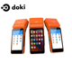 doki DKP808 android handheld pos devices/nfc reader thermal printer pos terminal/pos printer receipt
