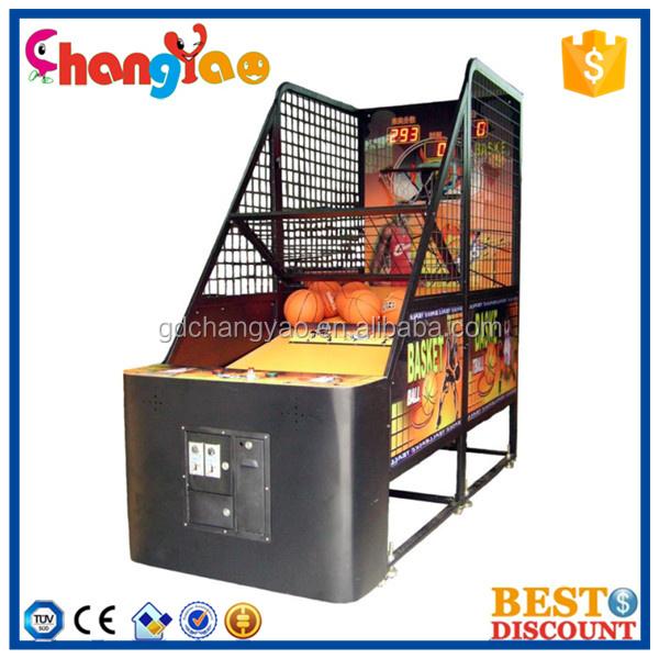 venta caliente elctrica mquina arcade juego de baloncesto para los nios