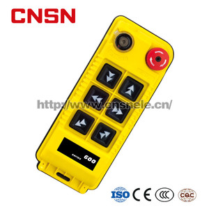 Waterproof Single Speed Overhead Crane Hoist Wireless Radio Industrial  Remote Control