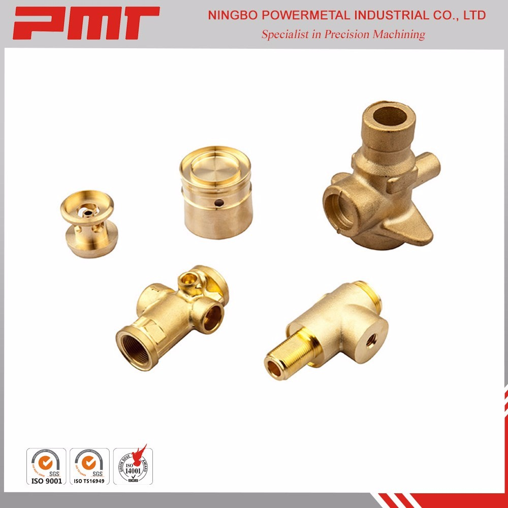 precision brass turned parts cnc brass lathe turning machining mechanical parts