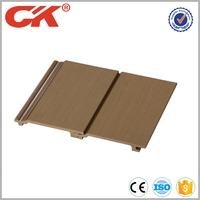 Factory price exterior wpc plastic composite wall cladding panel