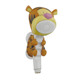 ABS shower head for kids with soft water flow hand shower with animal cartoon