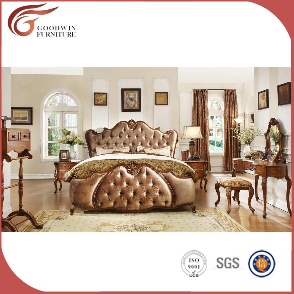 Lujo cama con dosel muebles de dormitorio antiguo - Muebles de dormitorio antiguos ...
