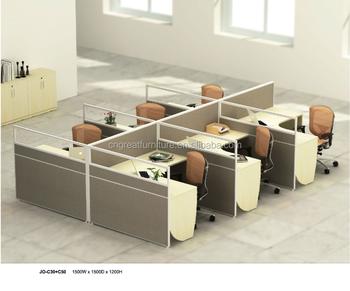 circular office desk. 6 Seater Workstation Glass Mix Melamine Board Partition Circular Office Desk T