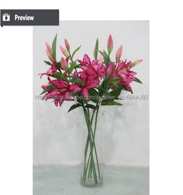 pas cher gros fleurs artificielles fleur artificielle pour. Black Bedroom Furniture Sets. Home Design Ideas
