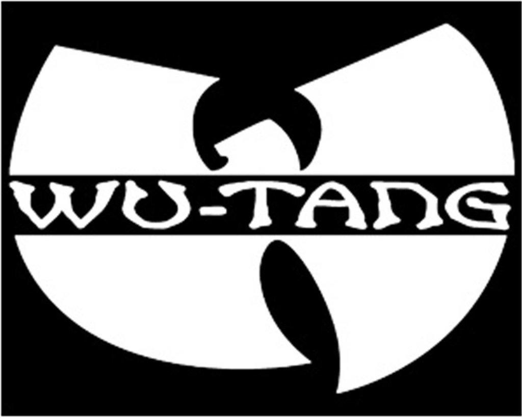 WU Tang Clan Logo Wu Tang Symbol Decal Vinyl Sticker Cars Trucks Vans Walls Laptop  WHITE  5 x 3.5 in CCI499