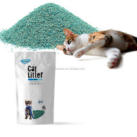 Super absorbent paper corn cat litter