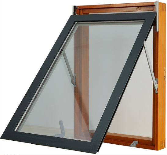 Flexible designs energy efficient double layer glazing glass windows awning casement windows