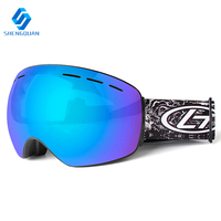 2018 Factory hot sale snow boarding goggles high quality with low price