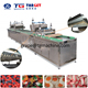 Worm jelly candy depositing machine with starch mould