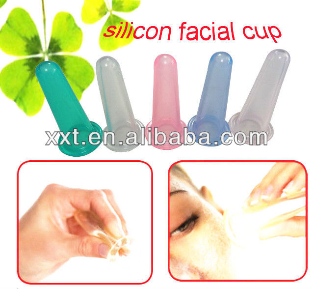 Hot Sale Silicone massage cup hijama cupping therapy equipment kit
