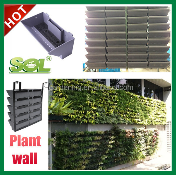 Lovely Artificial Vertical Garden Green Wall Self Watering Greenwall Abs Plastic  Flower Planters   Buy Vertical Garden Wall,Self Watering Greenwall,Abs  Plastic ...