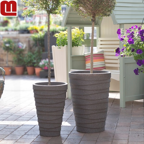 Customize terse style plastic plant pot