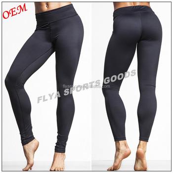 f5d33169a9f17e wholesale custom high quality 73% Polyester 27% Spandex yoga leggings dry  fit high waist