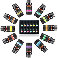 Essential Oils Set - Pure & Natural Grade Oil for Aromatherapy Diffuser