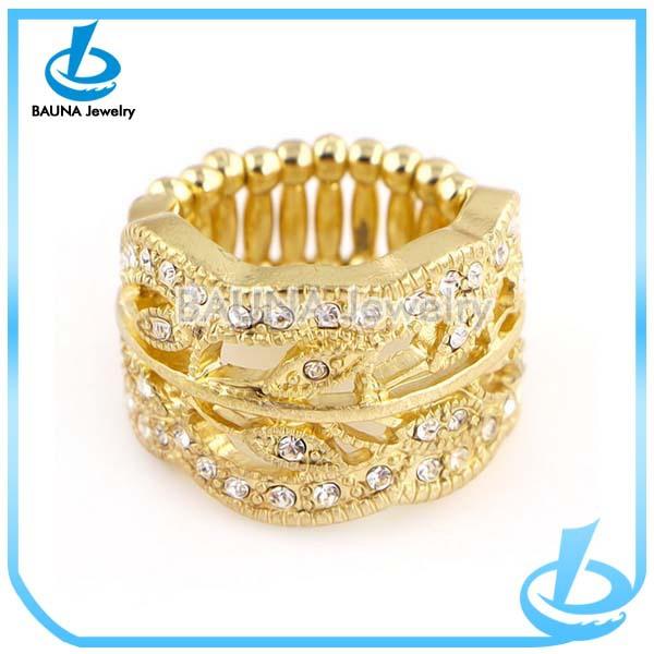 New Design Multi Gold Long Finger Ring Buy Long Finger Ring Full